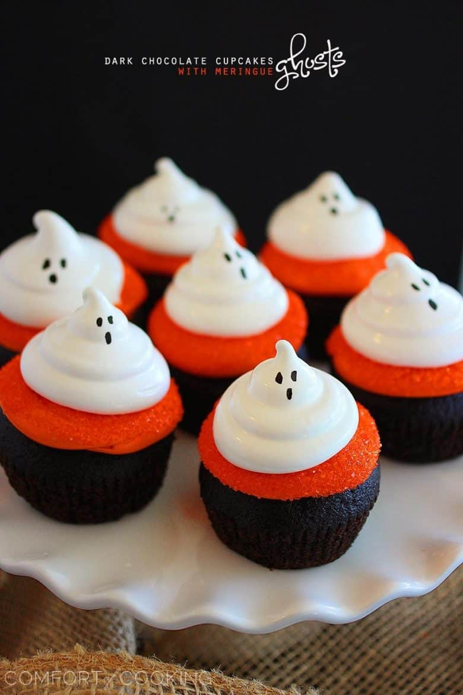 Over 30 fun halloween cupcakes a girl and a glue gun for How to make halloween cupcake cakes