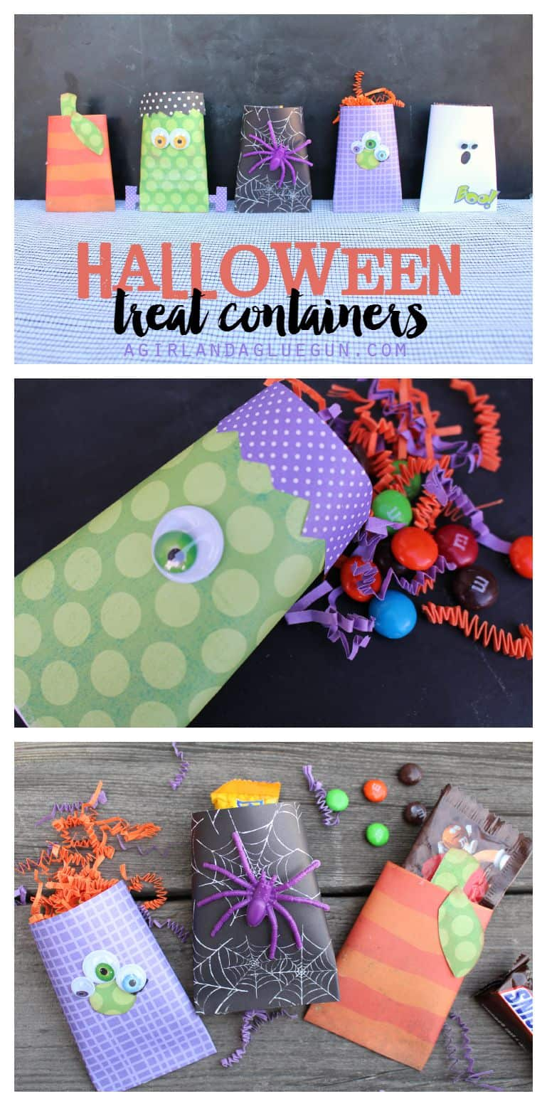 Fun Halloween Treat Containers