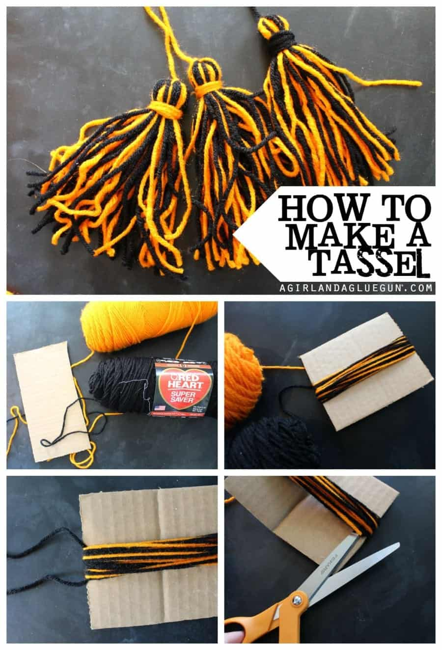 How to make a Halloween Tassel