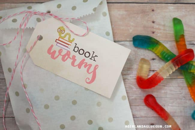 book worm for book shower