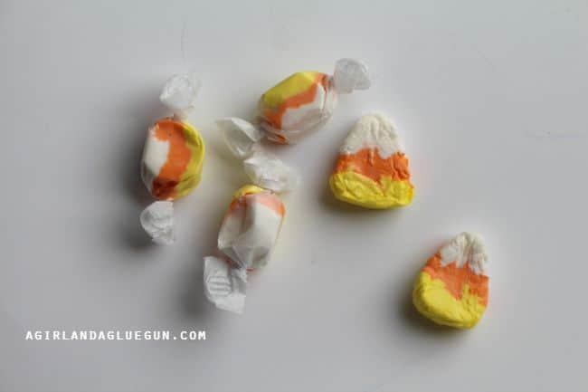 candy corn shaped laffy taffy