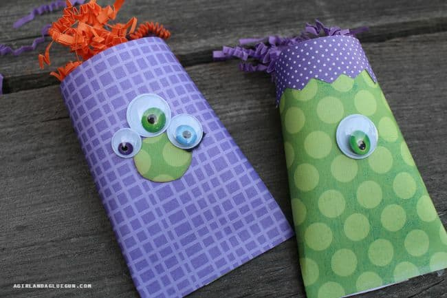 cute and easy monster box