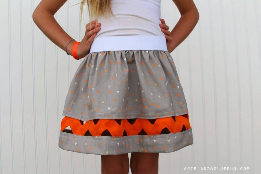 diy a skirt for skirting the issue