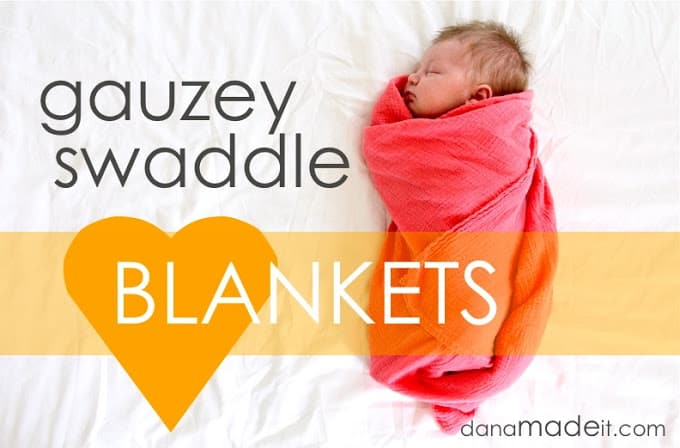gauzy blanket