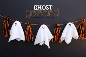 Make it fun crafts–Giant hanging ghost!