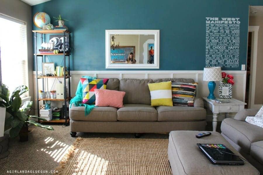 living room sneak peek