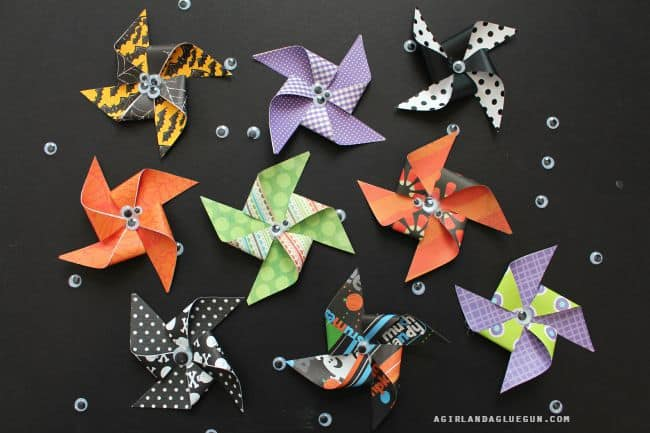 pinwheels diy how to for halloween