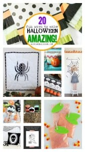 20 fun ways to make your Halloween amazing, crafts, decorations, party, food!