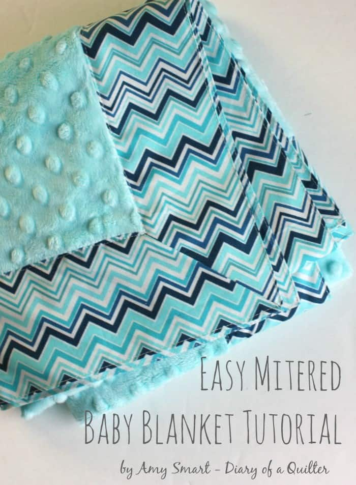 Easy-Mitered-Baby-Blanket-tutorial-1-700x953