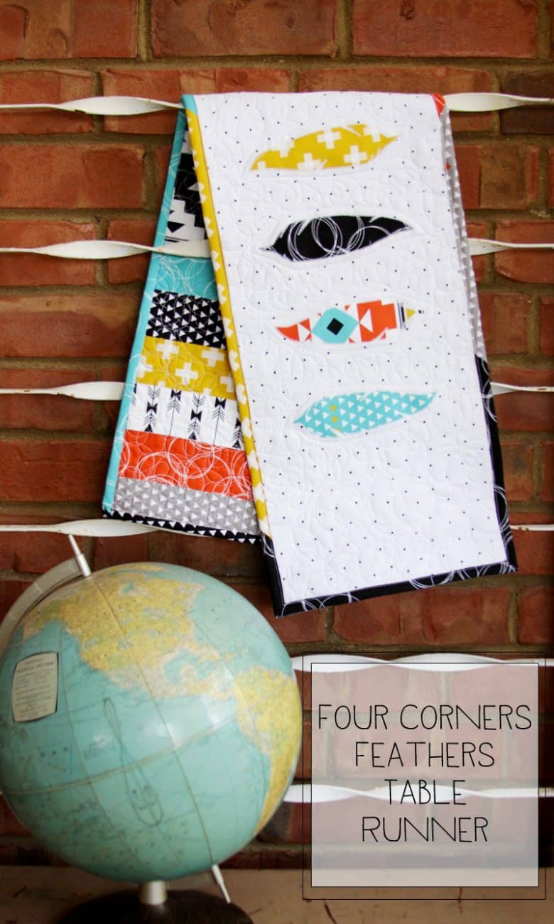 Four-Corners-Feathers-Table-Runner