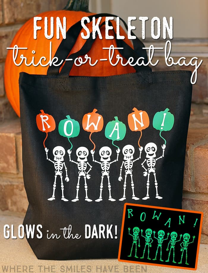 Fun-Skeleton-Halloween-trick-or-treat-Bag-that-Glows-in-the-Dark-graphic