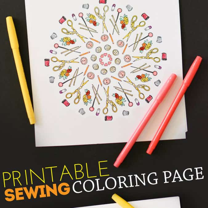Sewing-Coloring-Pagefi