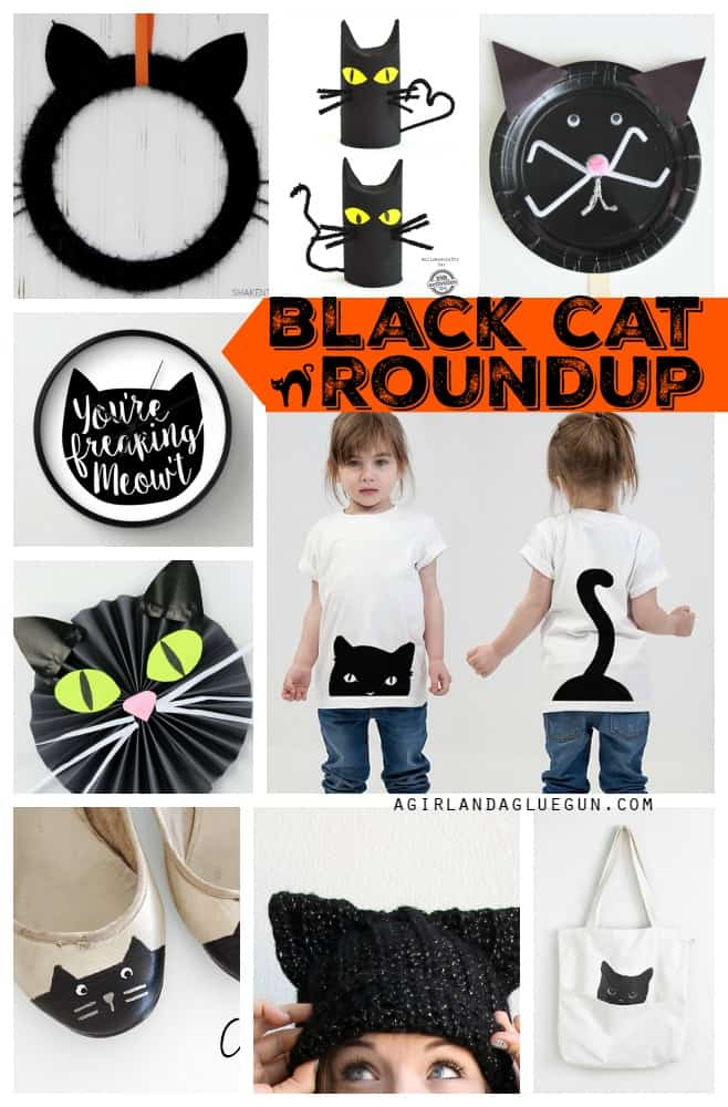 all things black cat roundup for Halloween
