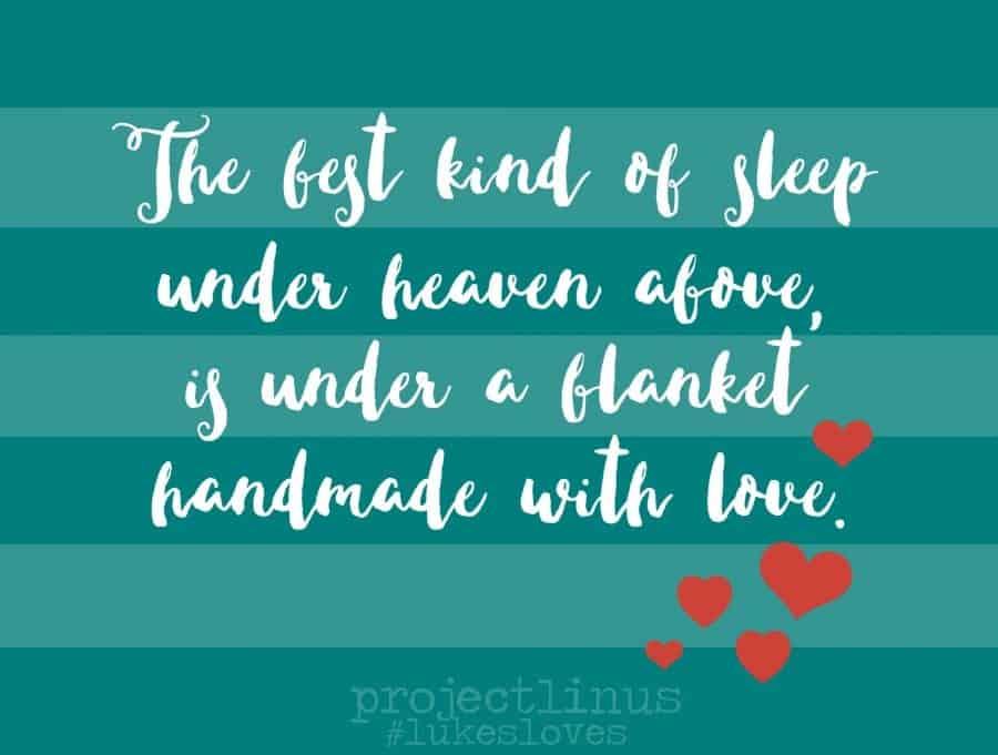 blanket quote