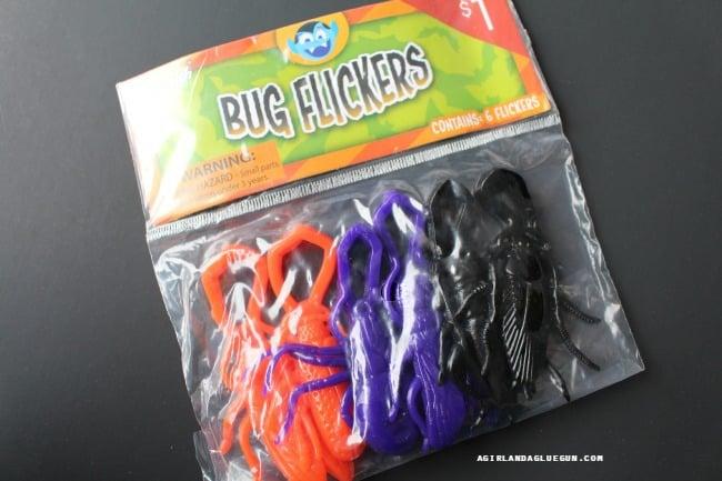 bug flickers