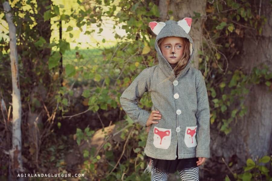 fun animal diy jacket