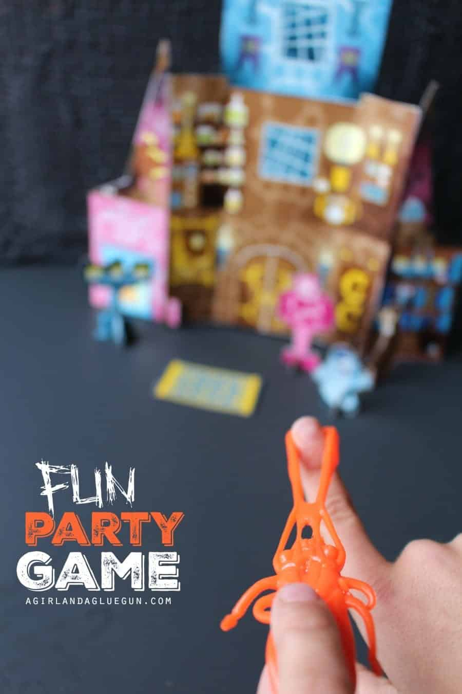 fun party game using a cereal box