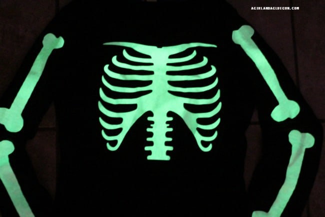 glows in the dark