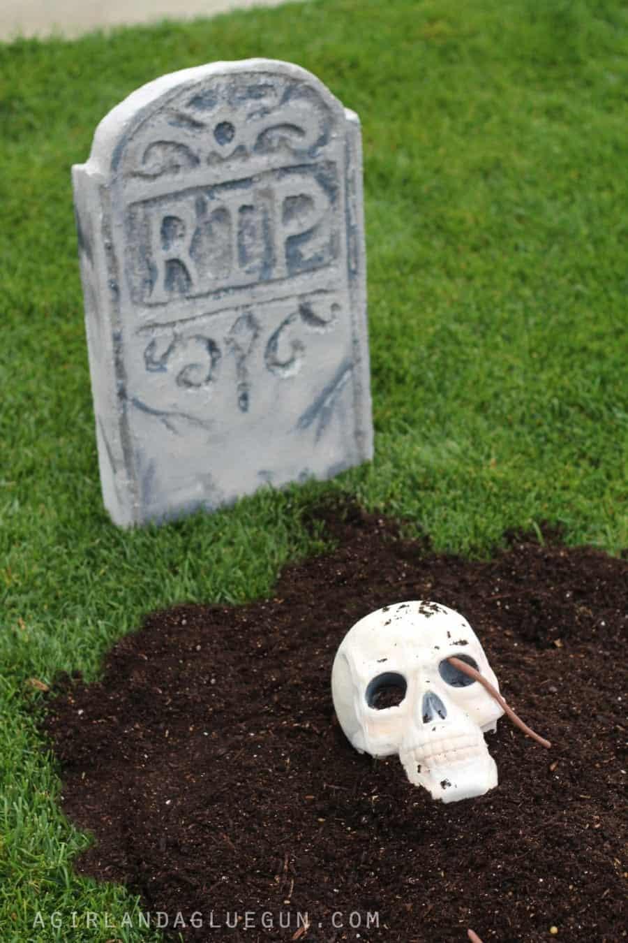 gravestone diy