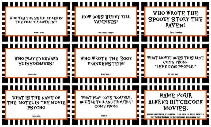 halloween adult movie trivia