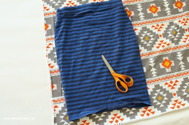 how to make a knit pencil skirt