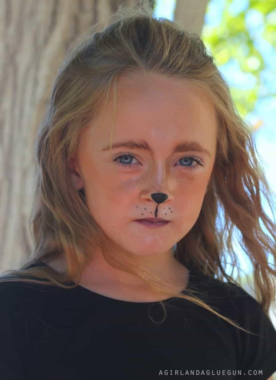 little girl fox makeup