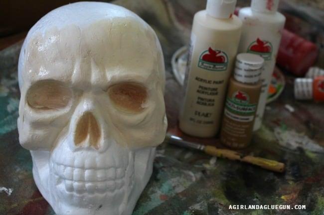 paint a skull