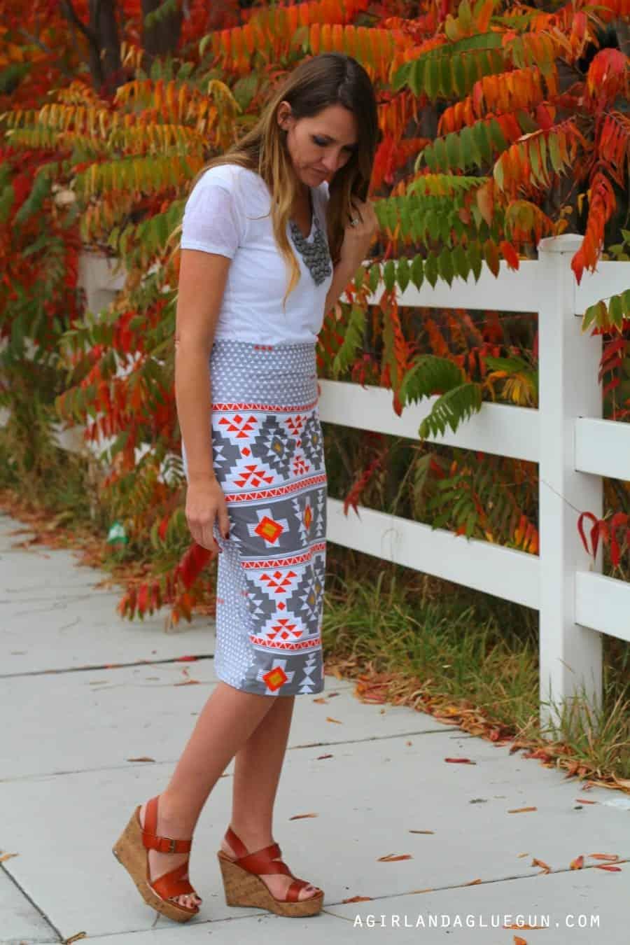 perfect knit skirt