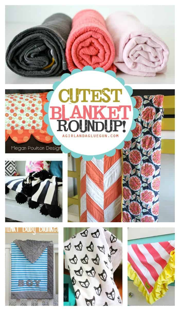 the cutest baby blanket roundup! lots of great diy tutorials!