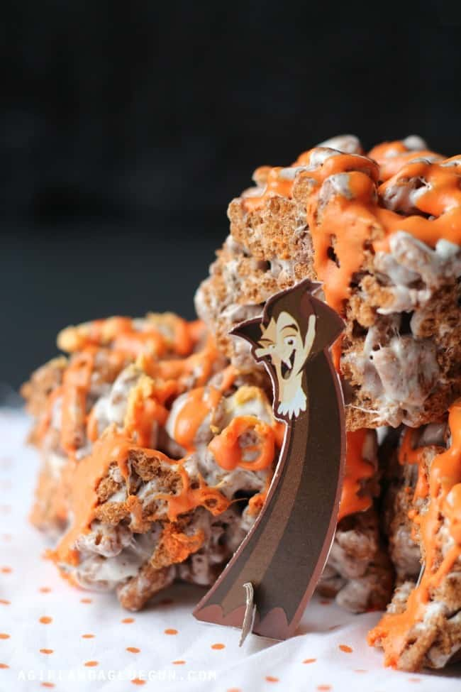 yummy and easy treat for a Halloween party!