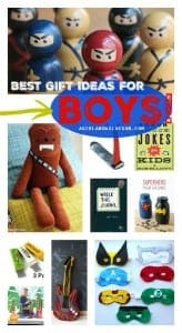 BEST gift ideas for boys--perfect presents for Christmas a girl and a glue gun