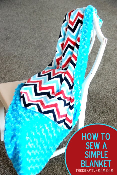 How-to-sew-a-simple-blanket-469x700