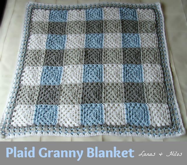 Plaid Granny Grey Blue1