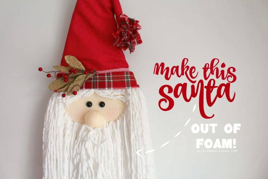 easy Christmas craft--santa claus
