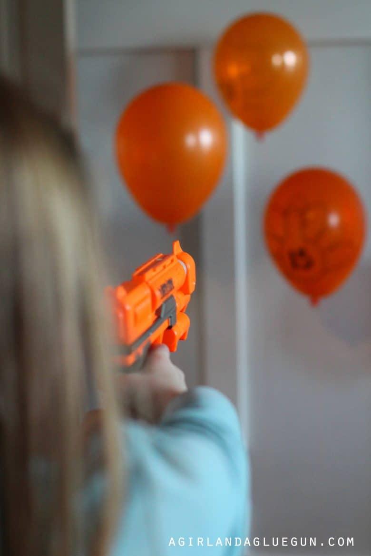 Shooting Turkeys Game A Girl And A Glue Gun