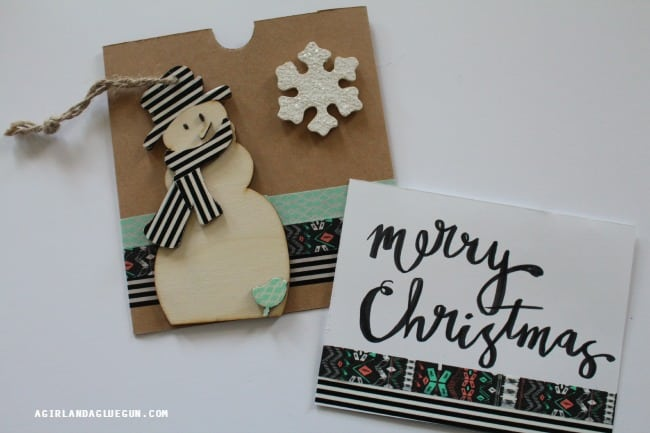 matching cards with envelopes