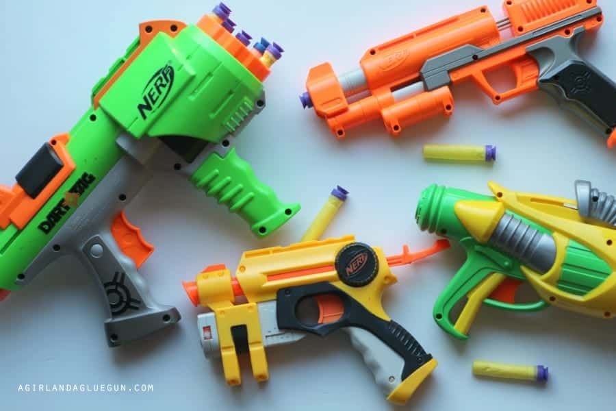 nerf gun with ammo