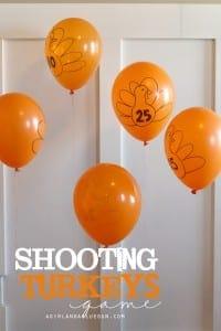 shooting turkeys game!
