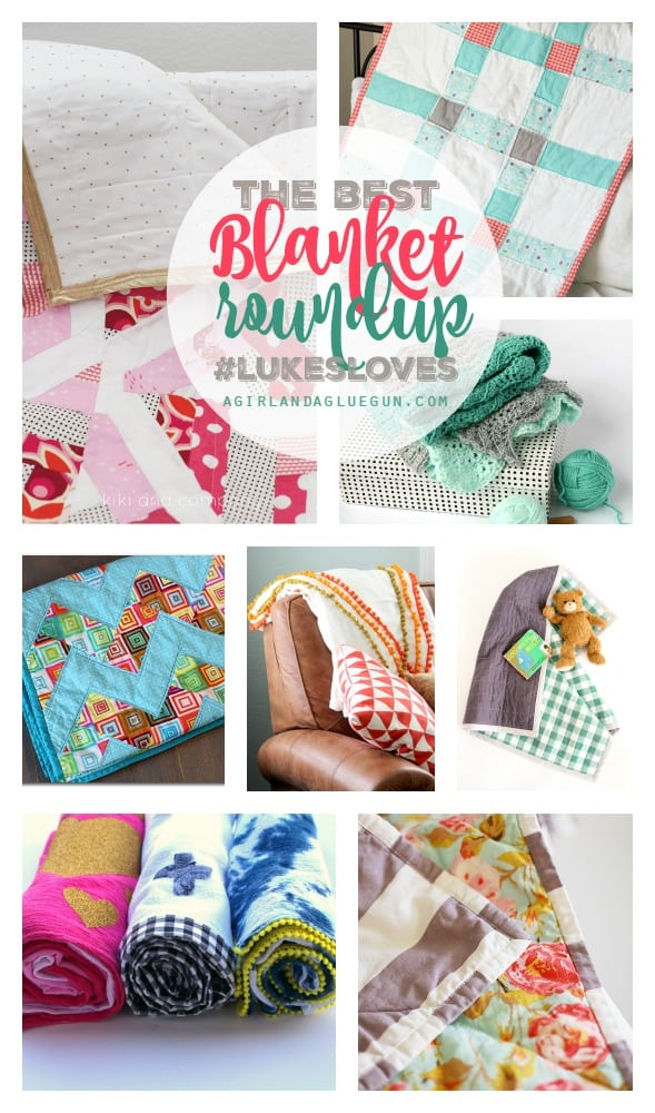 the best blanket roundup for project linus and lukesloves. So many fun ideas and tutorials!