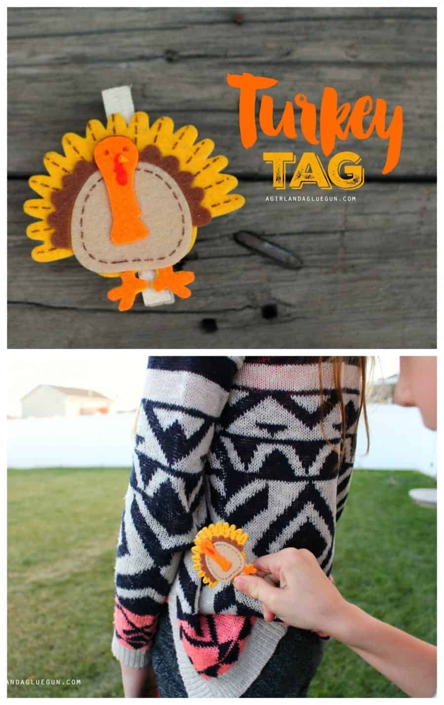 turkey tag--quiet game for thanksgiving