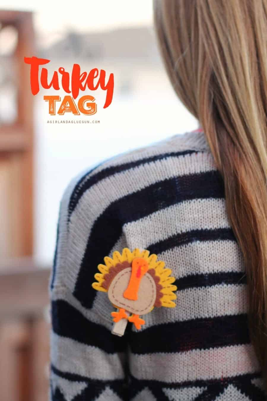 turkey tag--super fun game to play during Thanksgiving dinner