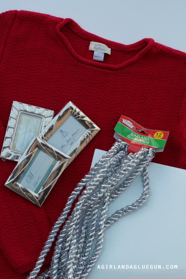 ugly sweater how to supplies