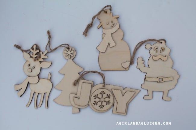 wood cutouts christmas