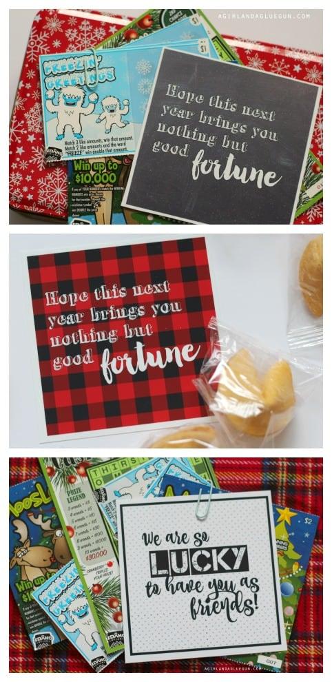 3 fun neighbor gift ideas --free printables