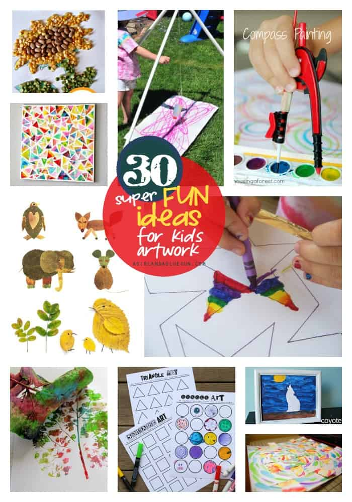 30-super-fun-ideas-for-kids-artwork