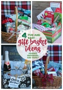 4 fun and easy gift basket ideas for Christmas