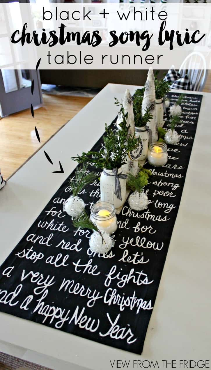 black-and-white-christmas-lyric-table-runner-pin1