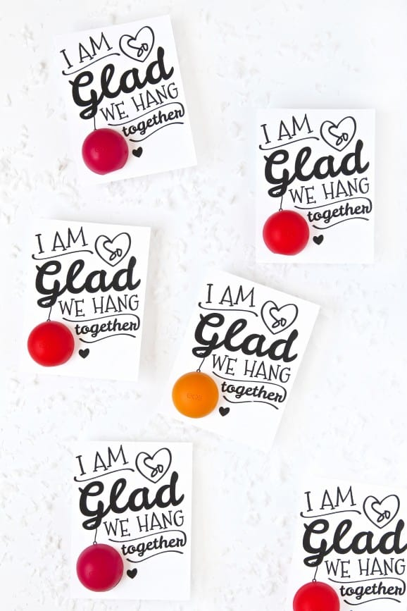 photo about You're the Balm Free Printable called EOS Printables Reward Roundup - A lady and a glue gun