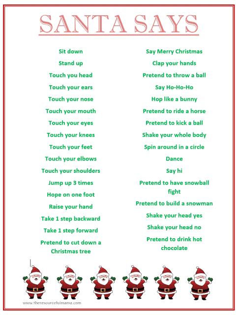 Santa-Says