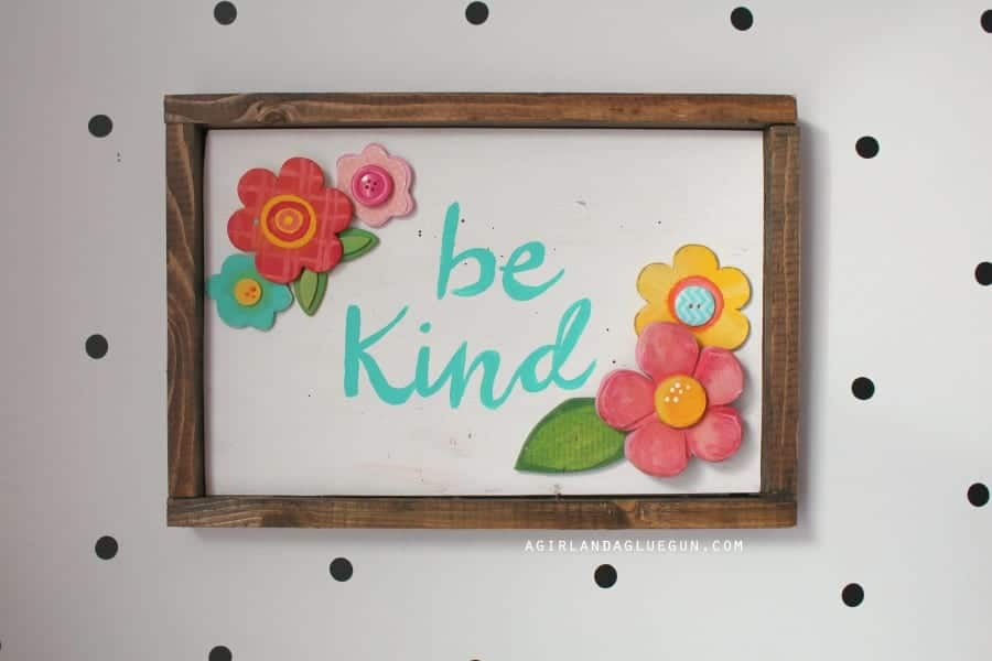 be kind frame